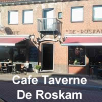 cafe taverne de roskam logo up