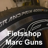 fietsshop marc guns logo up
